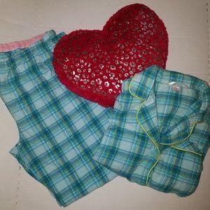 Victoria Secret Flannel Pajama set